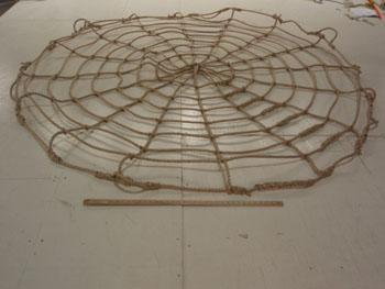 Round Cudtom Rope Cargo Net Size Comparison