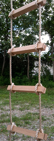 Rope Ladder Close-up