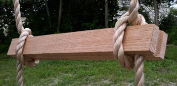 Rope Ladder Wooden Step