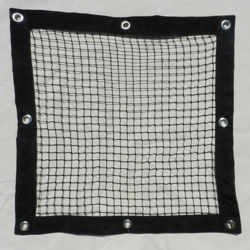 Knotted Safety Barrier Net