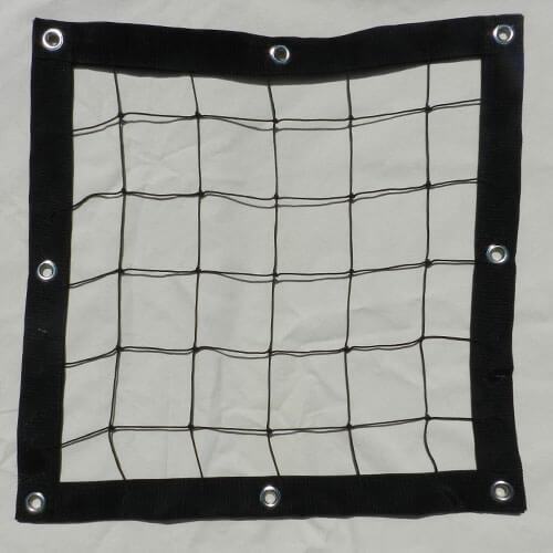 Safety barrier net