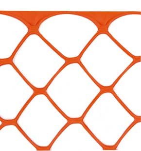 Heavy Duty Sentry Safety Fencing Close up