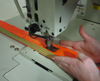 Sewing Thickness Capability Example Close up