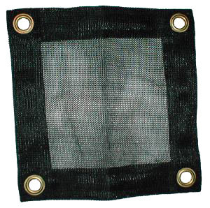 Custom Fire retardant debris safety net mesh panel