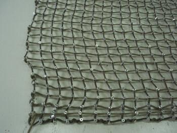 Kevlar™ cargo net corner