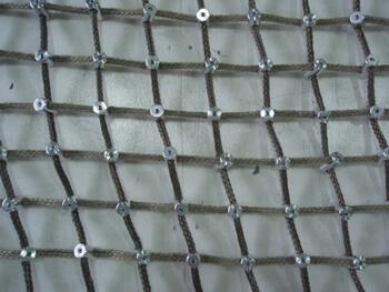 Kevlar™ cargo netting mesh