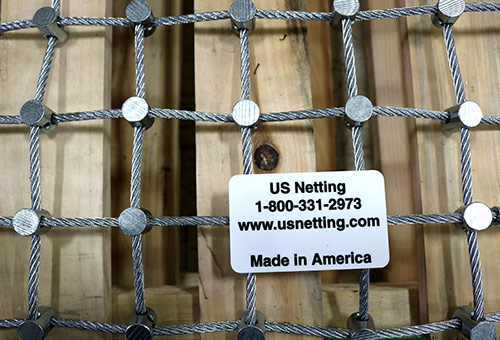 Stainless Steel Netting, Galvanized Wire Rope Netting, Steel nets