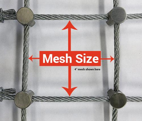 Steel Mesh Size