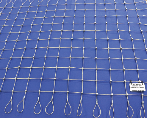 Steel Netting Loop Examples