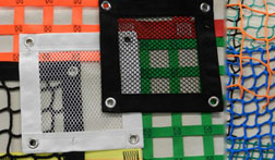 Cut to order netting materials and panels