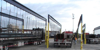 Flatbed Truck Safety Nets