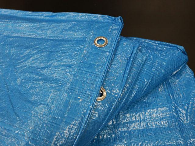 Blue Tarp Close Up