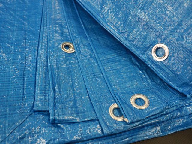 Blue Tarp Grommets