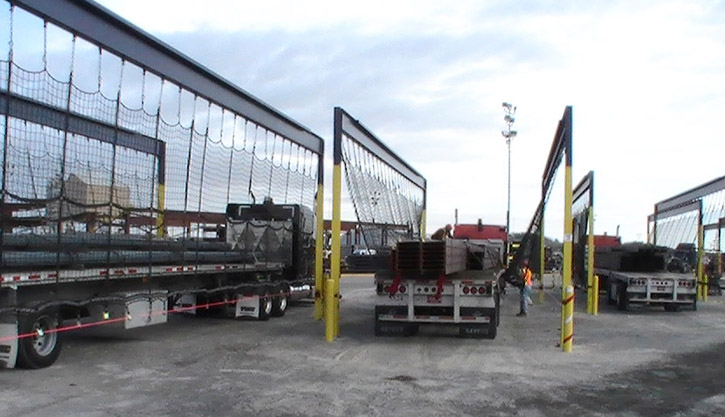 Custom Flatbed Truck Cargo Netting