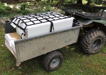 trailer cargo net