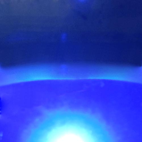 Blue welding curtain img-thumbnail img-responsive